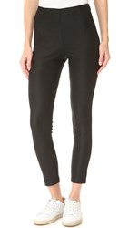 Atm Anthony Thomas Melillo Stretch Twill High Waist Pants Black