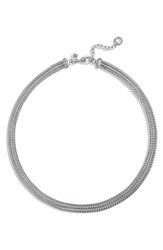 Women's John Hardy 'Classic Chain' Three Row Collar Necklace