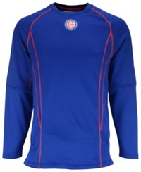 Majestic Men's Chicago Cubs Practice Pullover Royalblue