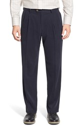 Men's Tommy Bahama 'New St. Thomas' Silk Blend Pleated Pants Ink