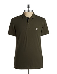 Bench Crystalline B Polo Shirt Beelte
