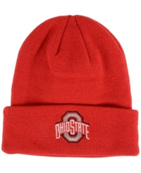 Top Of The World Ohio State Buckeyes Campus Cuff Knit Hat Red