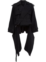 Ellery Cropped Jacket Black