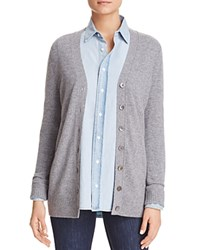Bloomingdale's C By Grandfather Cashmere Cardigan Slate