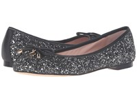 Kate Spade Willa Black Silver Glitter