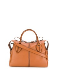 Tod's D Styling Tote Bag Brown