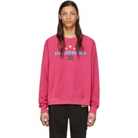 Gucci Pink Band Crewneck Sweater
