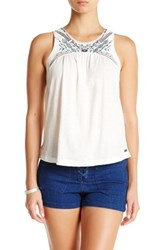Roxy Mermaid Tank White