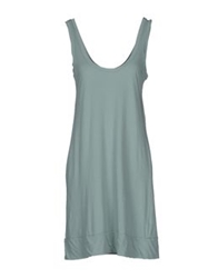 Crossley Short Dresses Light Green