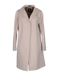 Calvaresi Coats And Jackets Full Length Jackets Women Beige