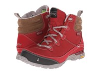 Ahnu Sugarpine Boot Garnet Red Women's Hiking Boots Brown