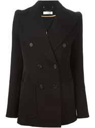 Chloe Chloe Double Breasted Blazer Black