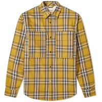 Fear Of God Plaid Shirt Jacket Yellow