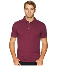 Mod O Doc Zuma Short Sleeve Polo Mulberry Clothing Purple