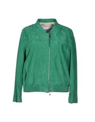Couture Du Cuir Jackets Green