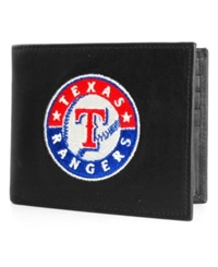 Rico Industries Texas Rangers Black Bifold Wallet