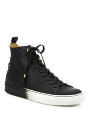 Android Alfa High Top Sneakers Black