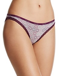 Calvin Klein Bottoms Up Bikini D3447 Criss Cross Hearts