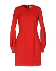 Leitmotiv Short Dresses Red