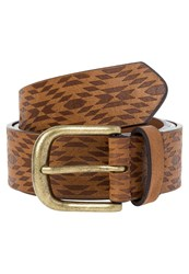 Evenandodd Belt Brown