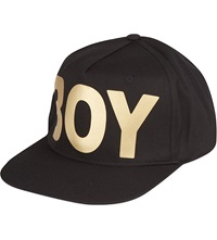 Boy London Snapback Trucker Cap Black Gold