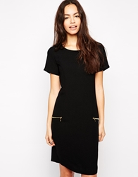 B.Young Shift Dress With Zip Detail Parisiannight