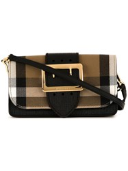 Burberry House Check Crossbody Bag Brown
