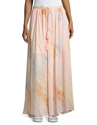 Free People True To You Crepe Maxi Skirt Ivory