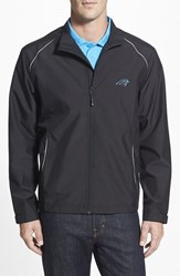 Men's Big And Tall Cutter And Buck 'Carolina Panthers Beacon' Weathertec Wind And Water Resistant Jacket