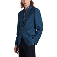 Paul Smith Wool Mohair Two Button Sportcoat Dk. Blue