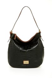 Tignanello Classic Beauty Leather Hobo Bag Green