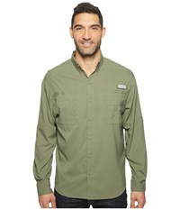 Columbia Tamiami Ii L S Cypress Men's Long Sleeve Button Up Green