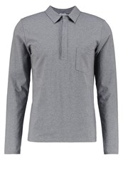 Filippa K Polo Shirt Grey Melange