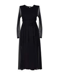 Boutique De La Femme 3 4 Length Dresses Black