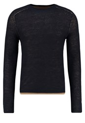 Sisley Jumper Navy Dark Blue
