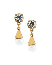 Lustre Glass Pearl Earrings Lulu Frost