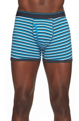 The Rail Stripe Boxer Briefs Blue Multi
