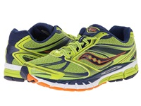 Saucony Guide 8 Lime Navy Orange Men's Running Shoes Green
