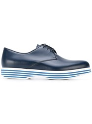 Church's Double Sole Derby Shoes Women Calf Leather Leather Rubber 38 Blue