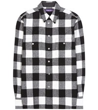 Ralph Lauren Buffalo Check Wool Blend Shirt Multicoloured