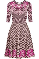 Temperley London Carissa Jacquard Knit Dress Multi
