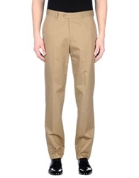 Enrico Coveri Casual Pants Camel