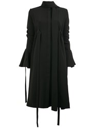 Ellery Flared Longsleeves Dress Black
