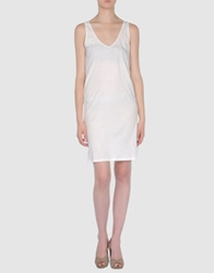 Essentiel Short Dresses White