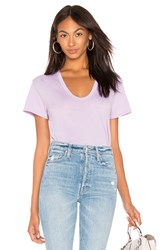 Ag Adriano Goldschmied Henson Tee Lavender