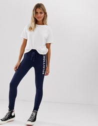 Hollister Skinny Fit Jogger With Logo Navy