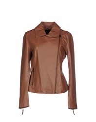 Class Roberto Cavalli Coats And Jackets Jackets Women Brown