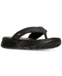 Skechers Women's On The Go Vivacity Flip Flop Thong Sandals From Finish Line Black