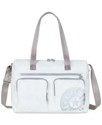 Kipling Stefany Tote Lacquer Pearl