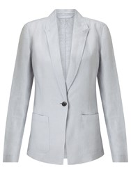 Jigsaw Louisiana Linen Jacket Grey